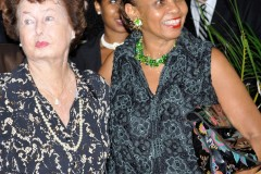 Dr-Jeannine-Comma-and-Kathleen-Lady-Goddard-get-ready-for-the-ribbon-cutting