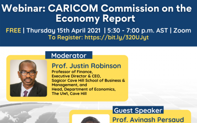 FREE Webinar: CARICOM Commission on the Economy Report