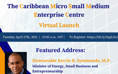 The Caribbean Micro Small Medium Enterprise Centre – Virtual Launch