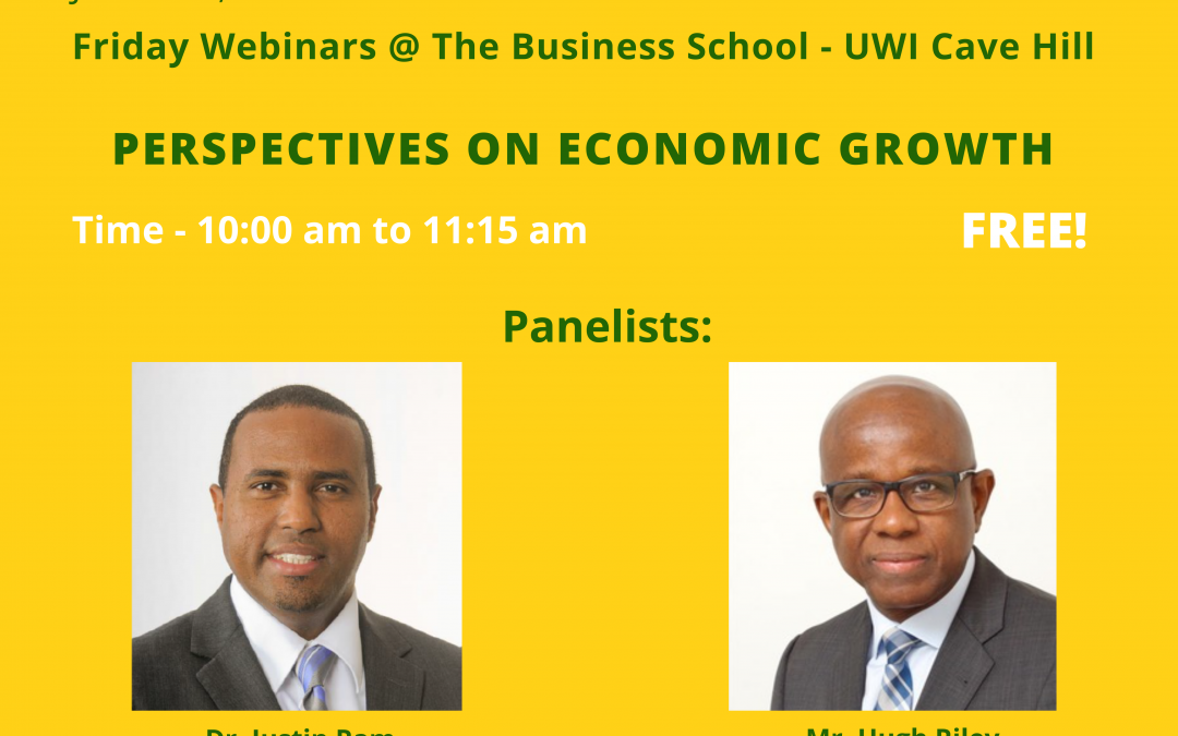 Webinar 8: Perspectives on Economic Growth