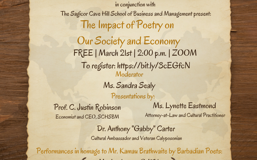 The Impact of Poetry on Our Society – Sunday 21st March 2021